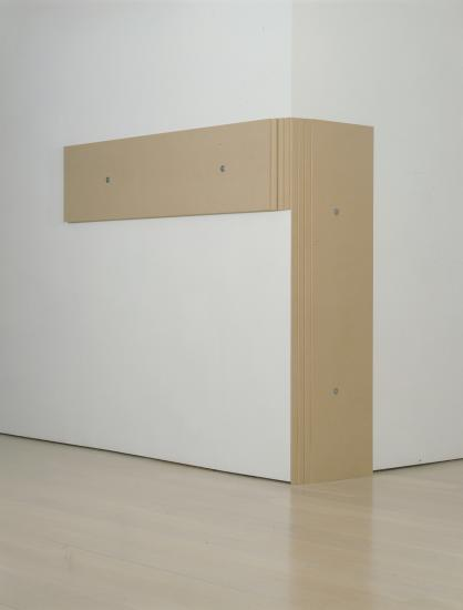 Wraparound (2010) MDF Panel (9mm), 8 pieces. Courtesy of the artist and Annely Juda Gallery